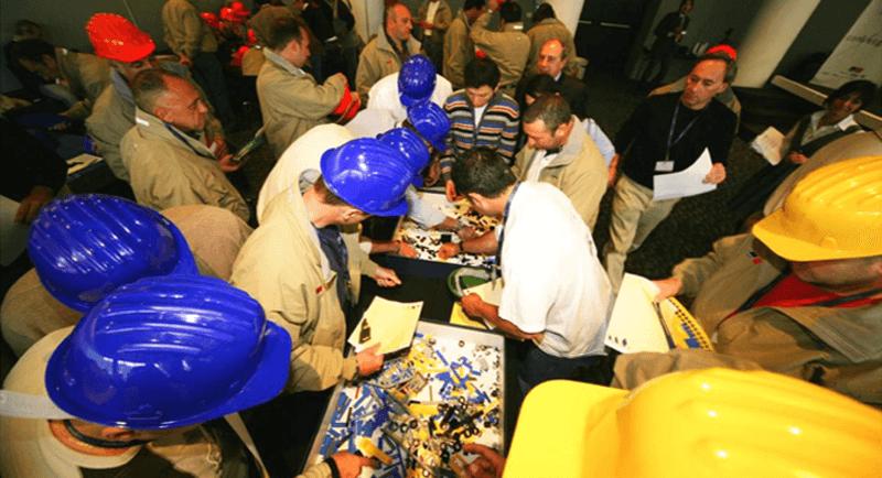 build it with a brick: team building aziendale