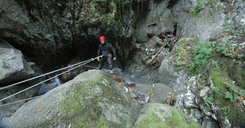 canyoning: team building aziendale
