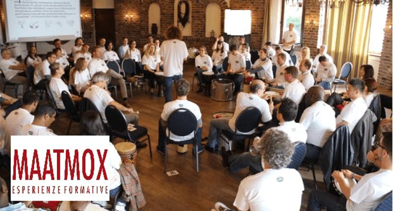 drum circle: team building aziendale