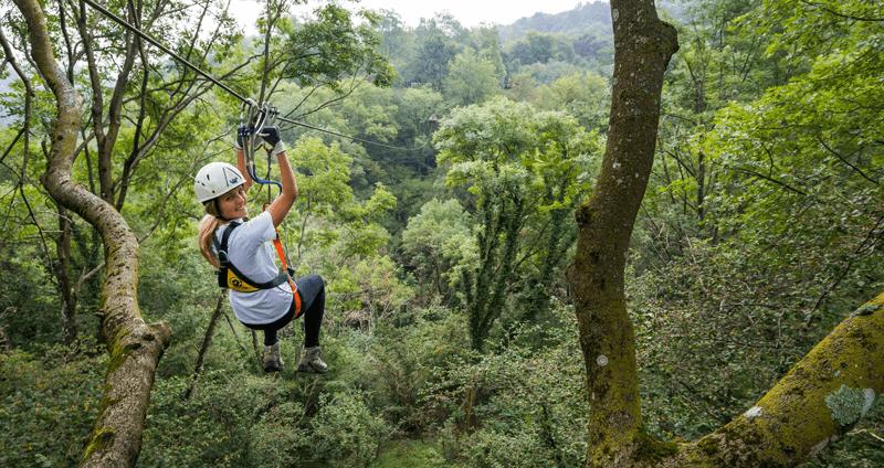 gare di tree adventure: team building aziendale