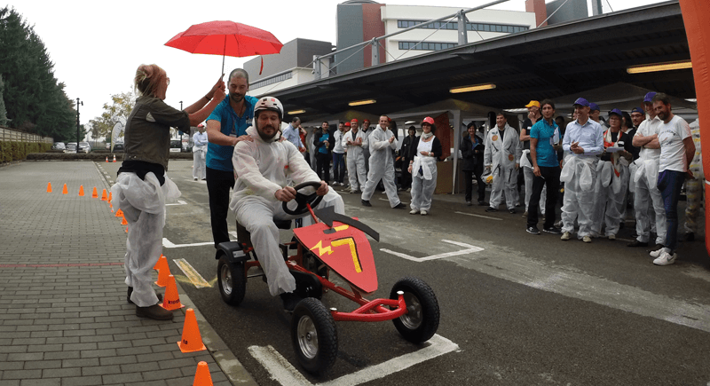 pedal go-kart: team building aziendale