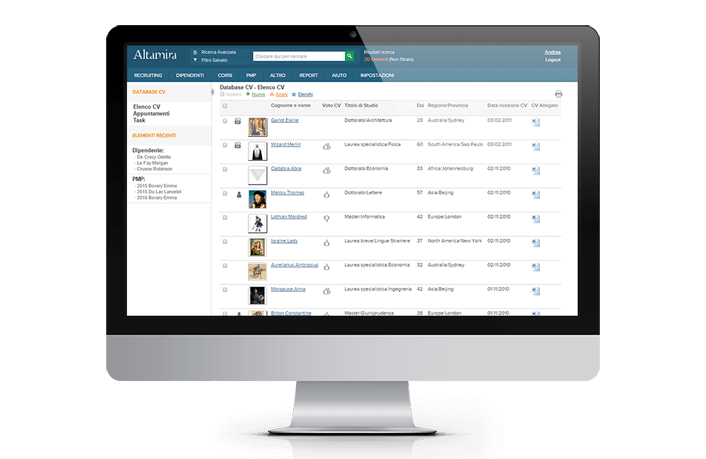 CV database – Classify your candidates and find the right ones for ...