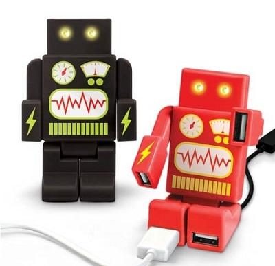 gadget ufficio robot usb HUB