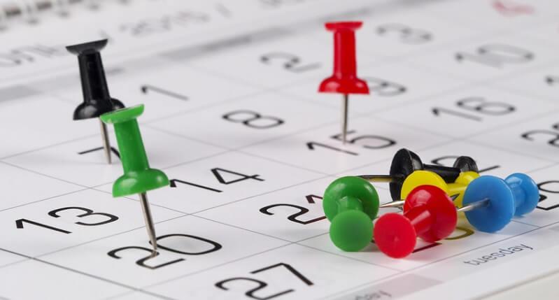 calendario gestione assenze