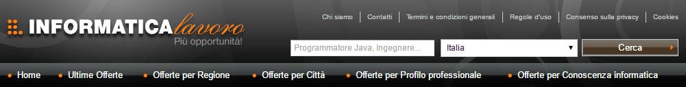 Informatica Lavoro banner