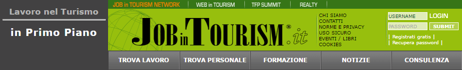 Job in Tourism banner