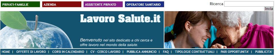 LavoroSalute banner