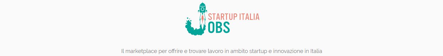Startup Italia Jobs banner