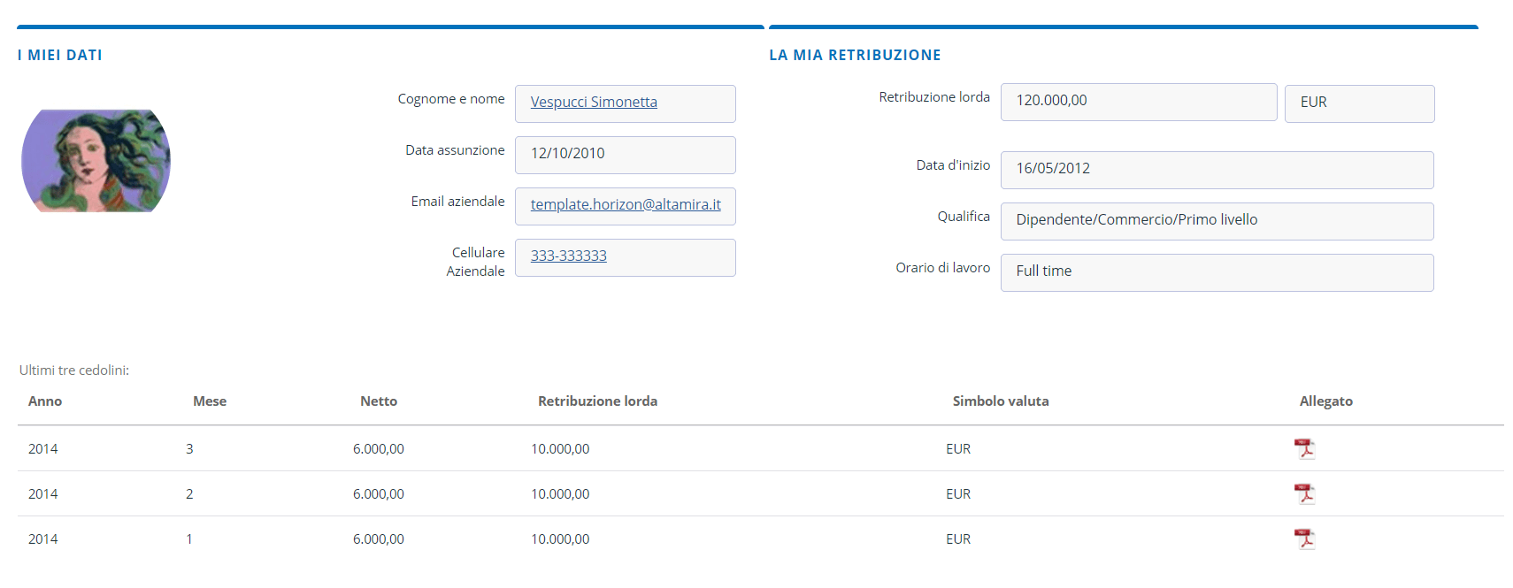 Homepage Altamira