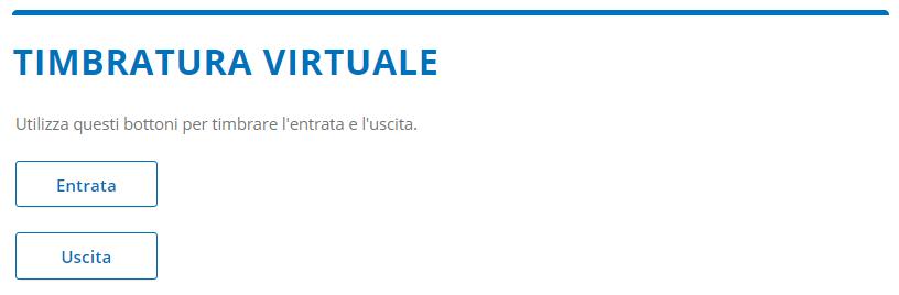 Homepage Altamira esempio di bottoni