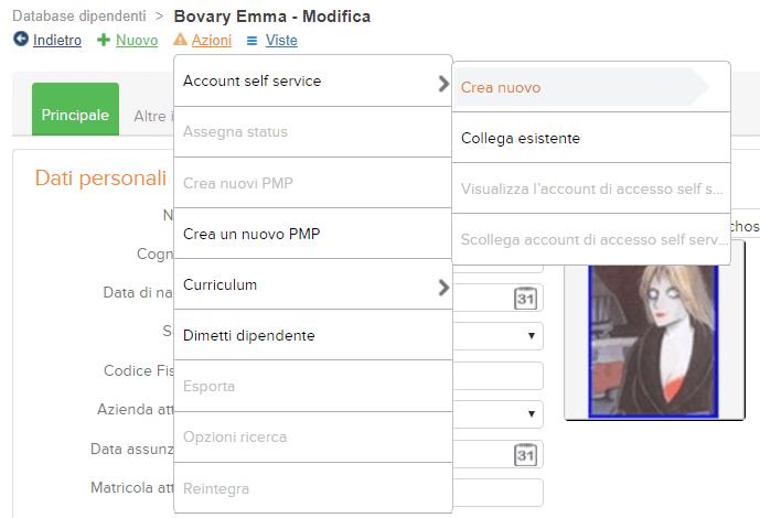 utenza self service