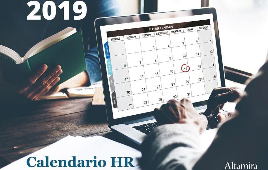 calendario HR 2019 Altamira