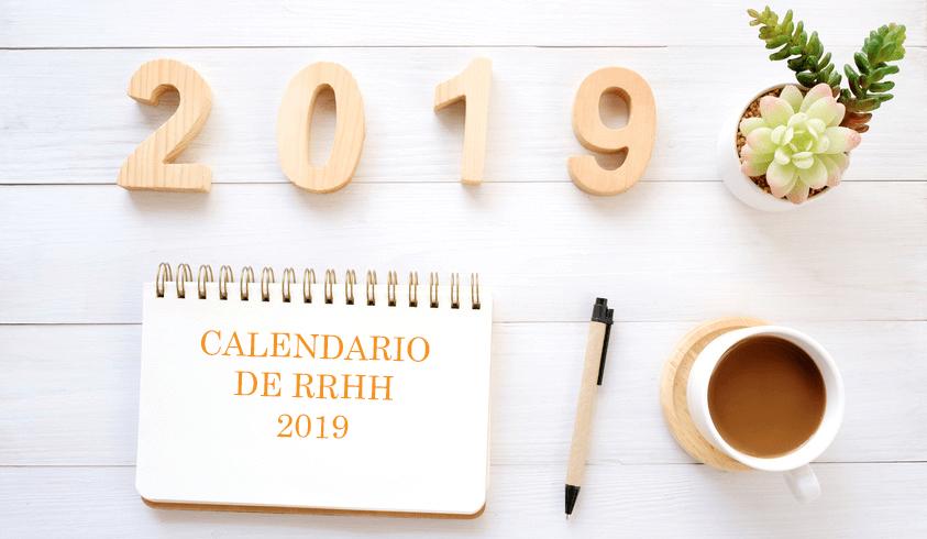 Calendario de RRHH 2019