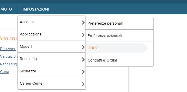console GDPR