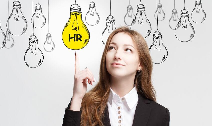 Digital HR Transformation concept