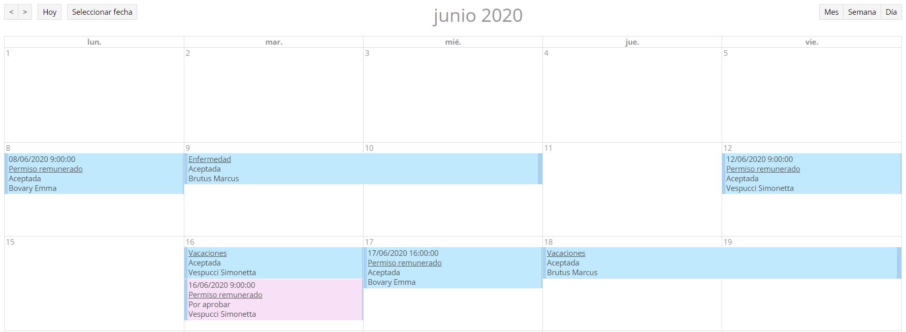 calendario compartido