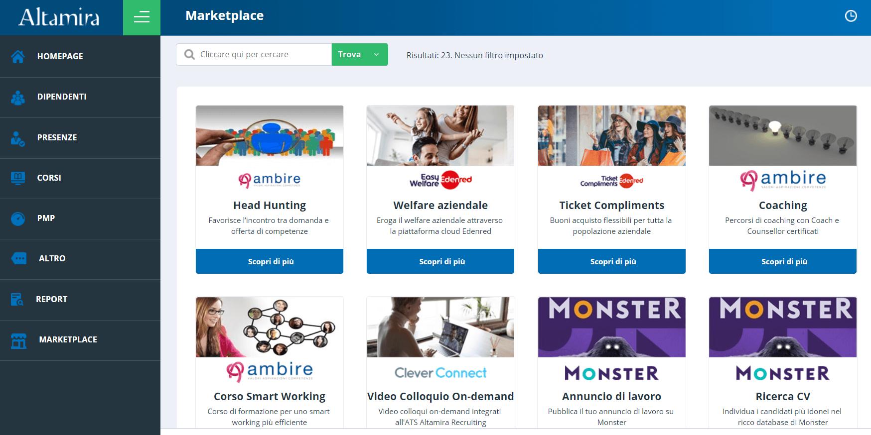 Lista marketplace